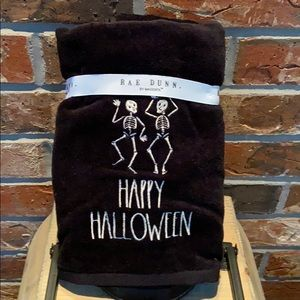 New Rae Dunn Set of 2 HAPPY HALLOWEEN Hand Towels